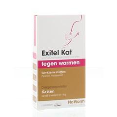 Exitel Kat no worm (2 tabletten)