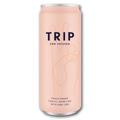 Trip CBD Infused peach ginger (250 ml)
