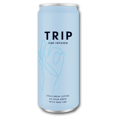 Trip CBD Infused cold brew coffee (250 ml)