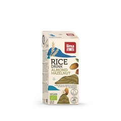 Lima Rice drink hazelnoot-amandel bio (200 ml)
