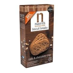 Nairns Biscuit breaks oat & chocolate chip (160 gram)