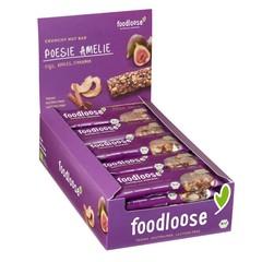Foodloose Poesie amelie verkoopdoos 24 x 35 gram bio (1 stuks)