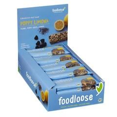 Foodloose Poppy limona verkoopdoos 24 x 35 gram bio (1 stuks)