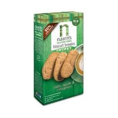 Nairns Biscuit breaks oats apple & cinnamon (160 gram)