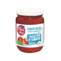 Pleniday Tomatensaus zoutarm bio (200 gram)