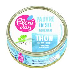 Pleniday Tonijn naturel zoutarm (90 gram)