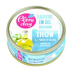 Pleniday Tonijn in olijfolie zoutarm (80 gram)