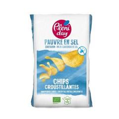 Pleniday Chips zoutarm bio (100 gram)