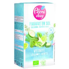 Pleniday Soep groene groente zoutarm bio (1 liter)