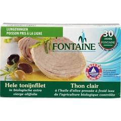 Fontaine Tonijnfilet in olijfolie bio (120 gram)
