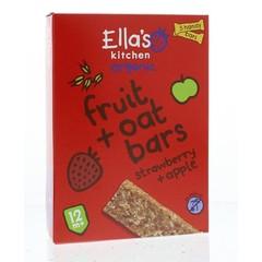 Ella's Kitchen Fruit oat bars strawberry/apple 12+ maanden (125 gram)