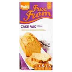 Peak's Cakemix vanille glutenvrij (450 gram)