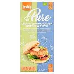 Peak's So pure burgermix Moroccan glutenvrij (300 gram)