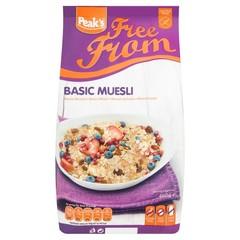 Peak's Muesli basic glutenvrij (450 gram)