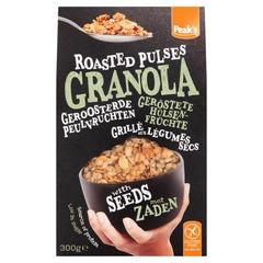 Peak's Granola roasted pulses with seeds glutenvrij (300 gram)