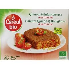 Cereal Bio Quinoa tomaat burger bio (200 gram)
