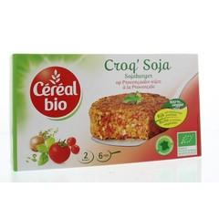 Cereal Bio Soja burger provencale bio (200 gram)