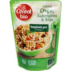 Cereal Bio Stoofpotje van gierst aubergines en soja bio (250 gram)