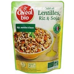 Cereal Bio Linzen rijst soja bio (250 gram)