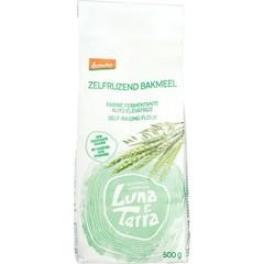 Luna E terra Zelfrijzend bakmeel demeter bio (500 gram)