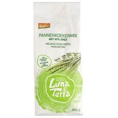 Luna E terra Pannenkoekmix met spelt demeter bio (500 gram)