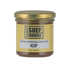 Kleinstesoepfabr Vloeibare bouillonblokjes kip bio (150 ml)