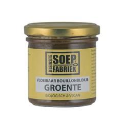 Kleinstesoepfabr Vloeibare bouillonblokjes groente bio (150 ml)