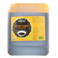 Yakso Ketjap manis bio (5 liter)
