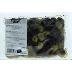 Bioverde Olijven mix bio (600 gram)