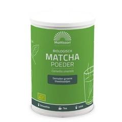 Mattisson Matcha poeder bio (350 gram)