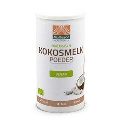 Mattisson Kokosmelk poeder bio (200 gram)
