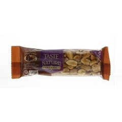 Taste Of Nature Dark chocolate peanut caramel (40 gram)