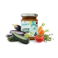 Sienna & Friends Italiaanse veggiesaus bio (130 gram)