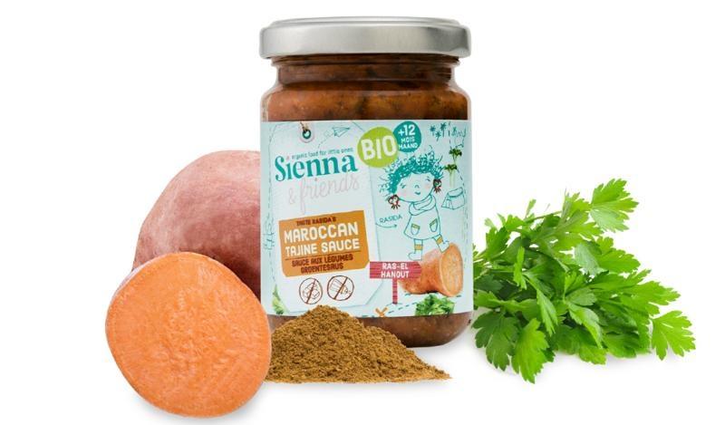 Sienna & Friends Marokkaanse tajinesaus bio (130 gram)