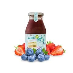 Sienna & Friends Smoothie bosbes aardbei vanille bio (200 ml)