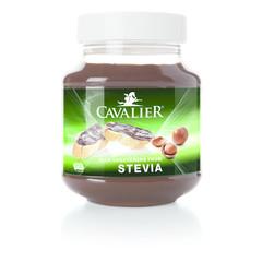 Cavalier Chocoladepasta hazelnoot gezoet met stevia (380 gram)