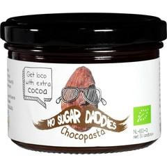 No Sugar Daddies Chocopasta puur bio (200 gram)
