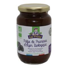 Lou Prunel Pruimenjam zonder toegevoegd suiker bio (400 gram)