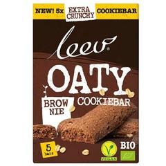 Leev Oaty cookiebar brownie bio (150 gram)