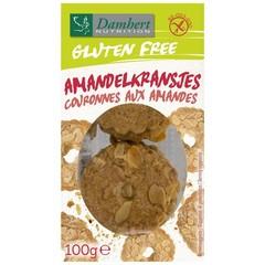 Damhert Kransjes amandel glutenvrij lactosevrij (100 gram)