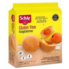 Dr Schar Magdalenas cake met jam (200 gram)