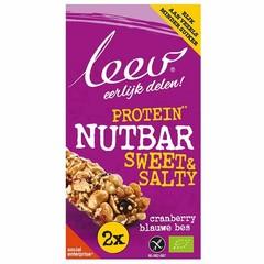 Leev Notenreep proteine berry bio (80 gram)