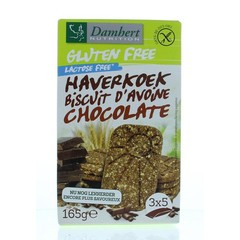 Damhert Haverkoekjes chocolade glutenvrij (165 gram)