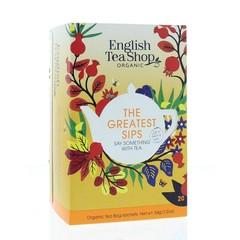 English Tea Shop Greatest sips bio (20 zakjes)