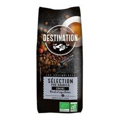 Destination Koffie selection Arabica bonen bio (500 gram)
