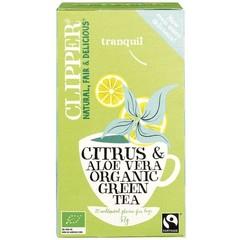 Clipper Green citrus aloe bio (20 zakjes)