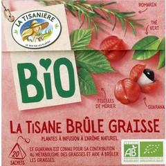 La Tisaniere Brule graisse bio (20 zakjes)