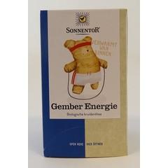 Sonnentor Gember energie thee bio (18 zakjes)