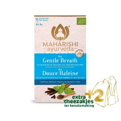 Maharishi Ayurv Gentle breath thee bio (17 zakjes)