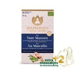 Maharishi Ayurv Voor mannen thee bio (17 zakjes)